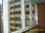 установка окна на лоджию