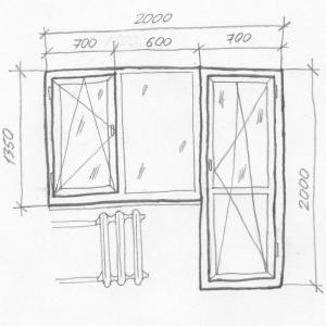 стеклопакеты балконная дверь