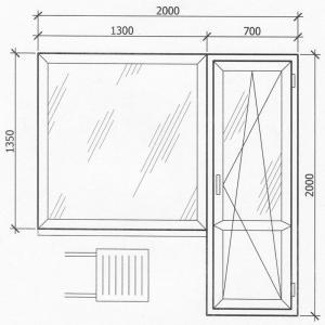 установка пластиковых окнах