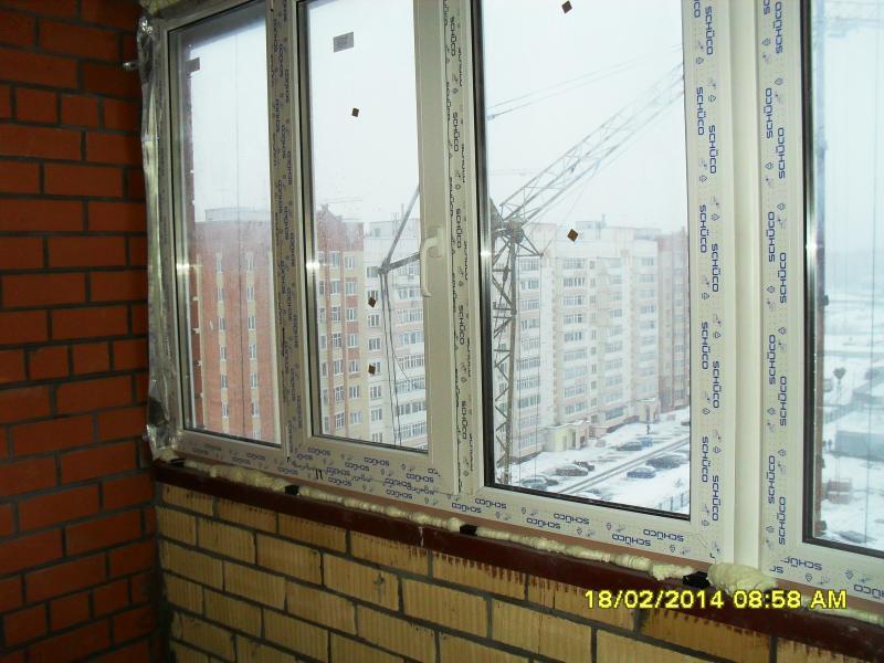 Окна лоджии : оздоблення балкону.