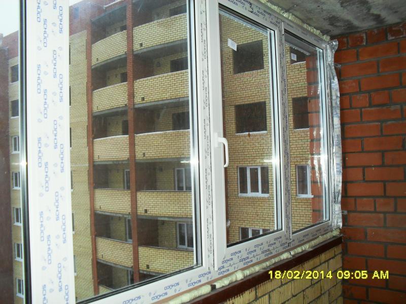 Окна лоджии, установка окна на лоджию, пластиковые окна лодж.
